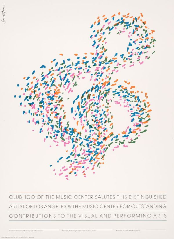 Club 100 of the Music Center salutes this distinguished artist… (1980-1990)