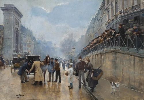 L'accident; Porte Saint-Denis