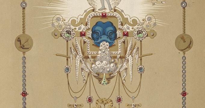 Die Perle; Musterblätter Für Juweliere U. Goldarbeiter