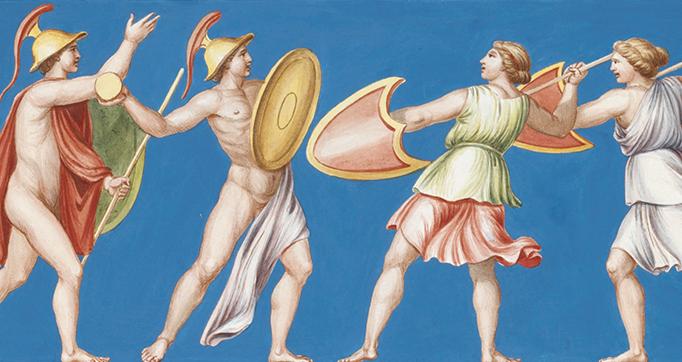 Recueil de peintures antiques trouvées à Rome
