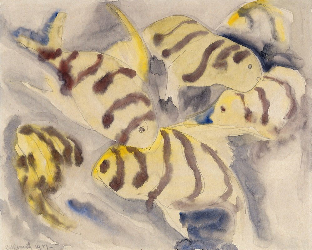 Charles Demuth - Fish Series, No. 3