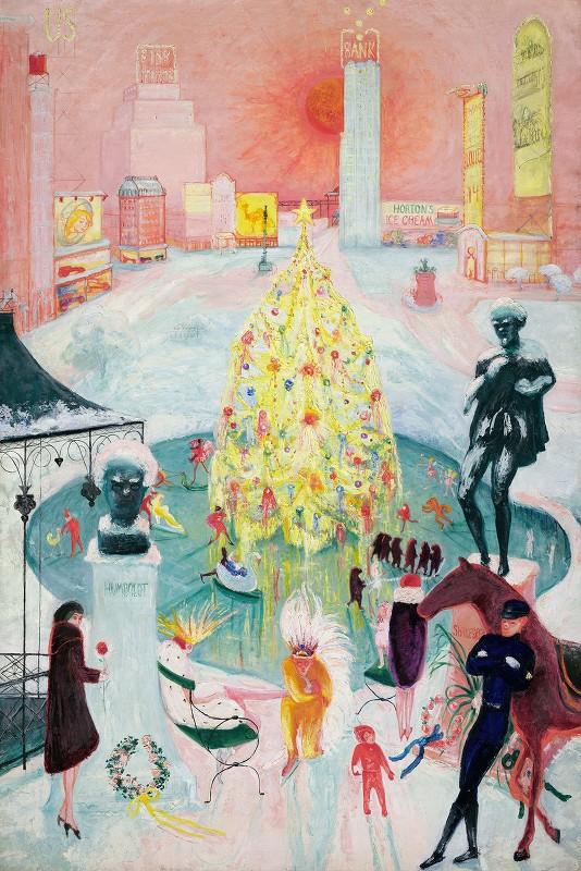 Florine Stettheimer - Christmas