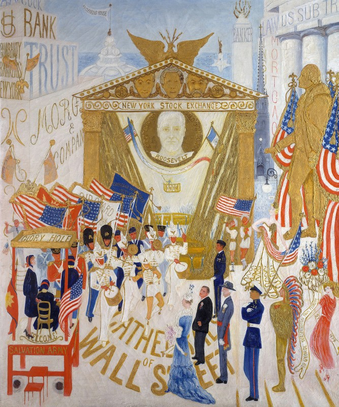 Florine Stettheimer - The Cathedrals of Wall Street