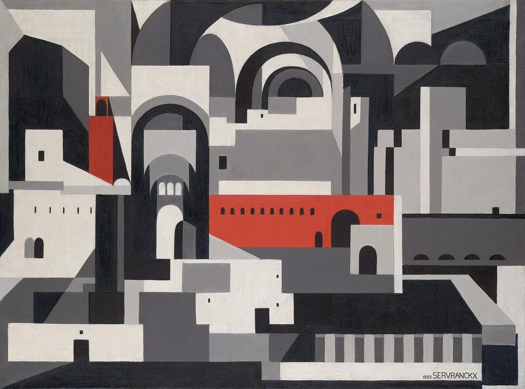 Victor Servranckx - No. 46 – 1922, TheTown