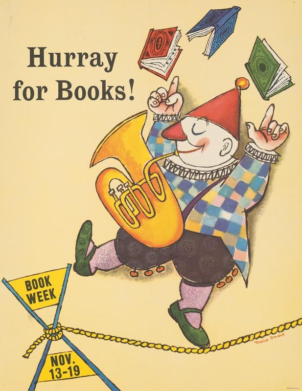 Maurice Sendak - Hurray for books!