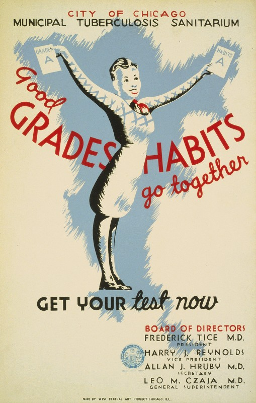 Unknown - Good grades – Habits go together