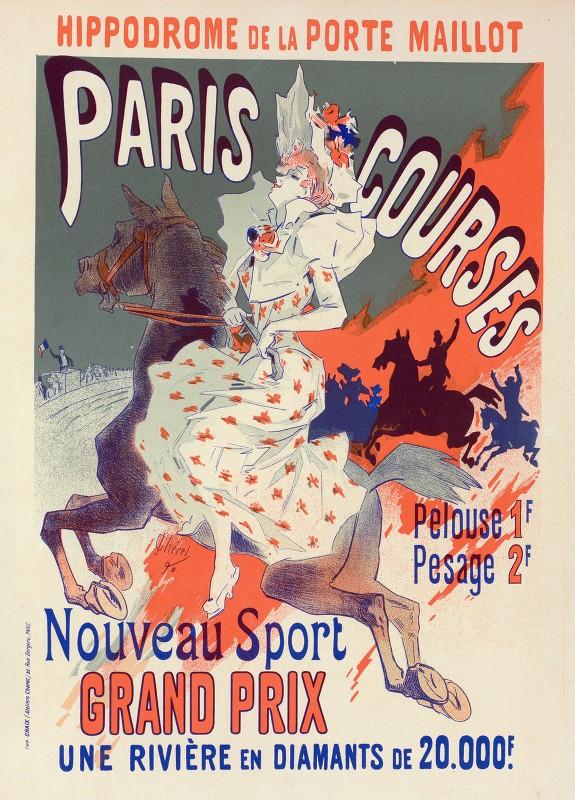 Jules Chéret - Paris-Courses