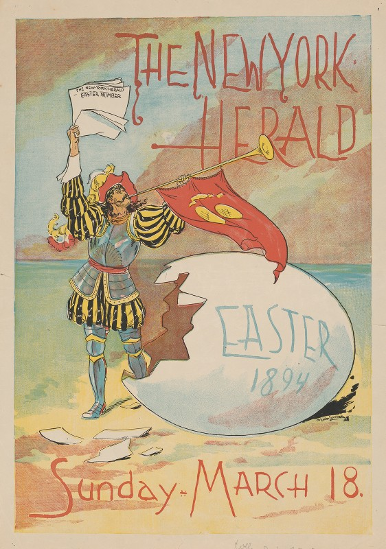 Unknown - The New York Herald, Easter 1894
