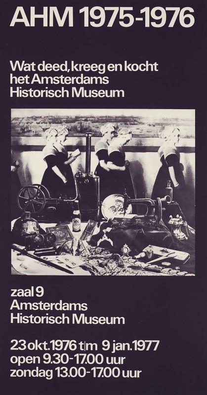 Jolijn van de Wouw - Amsterdams Historisch Museum 1975-1976