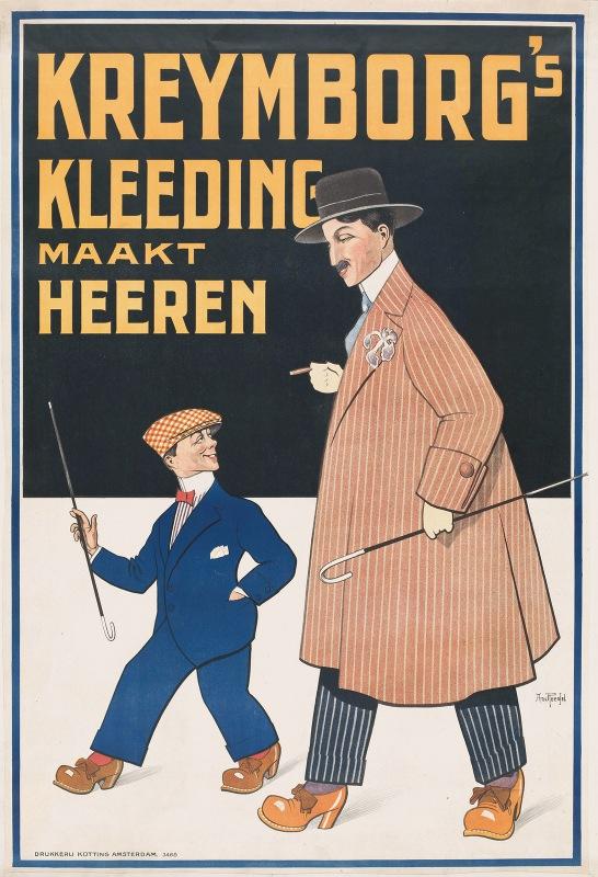Arnold van Roessel - Kreymborg's kleeding maakt heeren