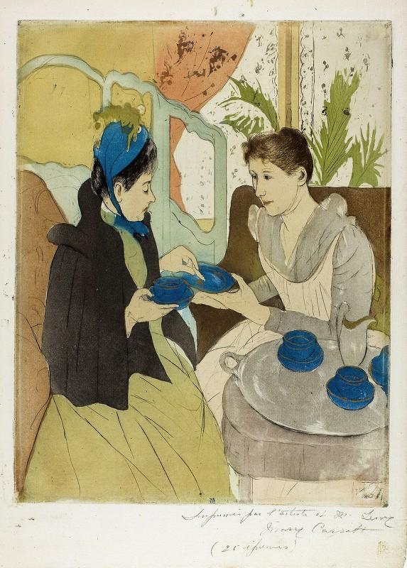 Mary Cassatt - Afternoon Tea Party