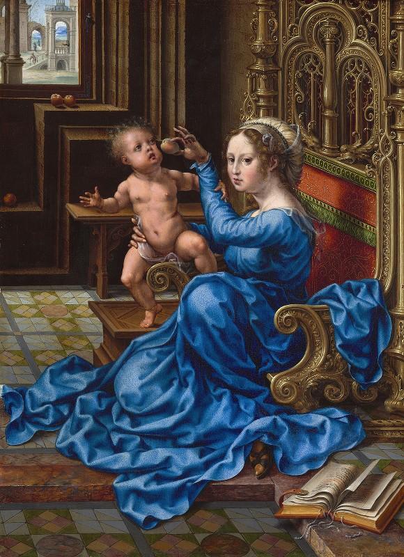 Jan Gossaert - Madonna and Child