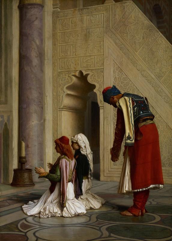 Jean-Léon Gérôme - Young Greeks in the Mosque