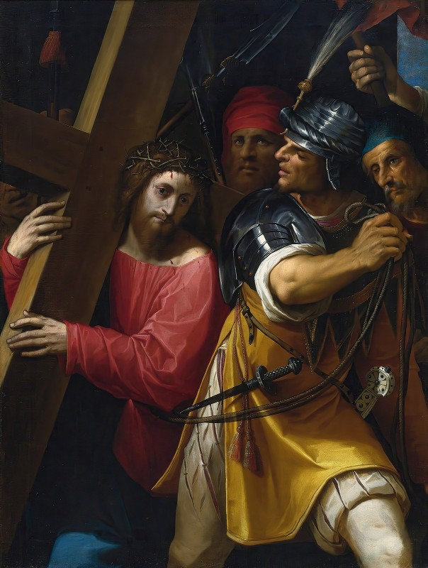 Jacopo Ligozzi - Christ Carrying The Cross