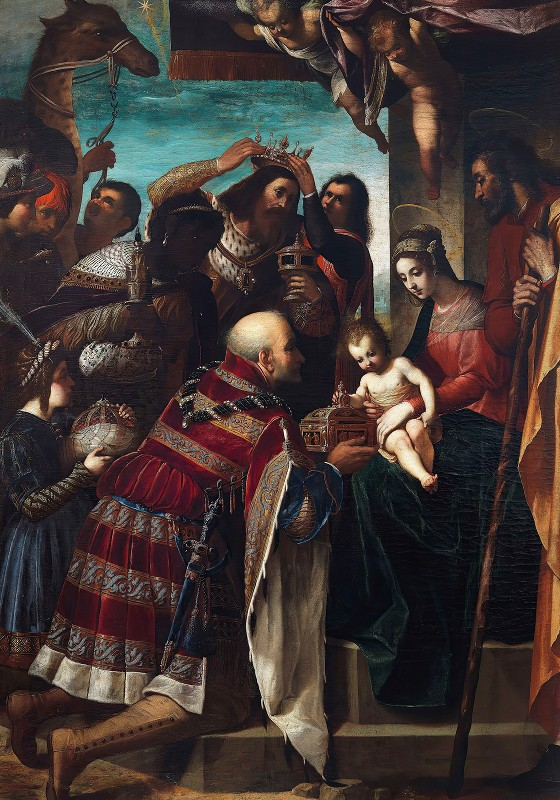 Jacopo Ligozzi - Adoration of the Magi