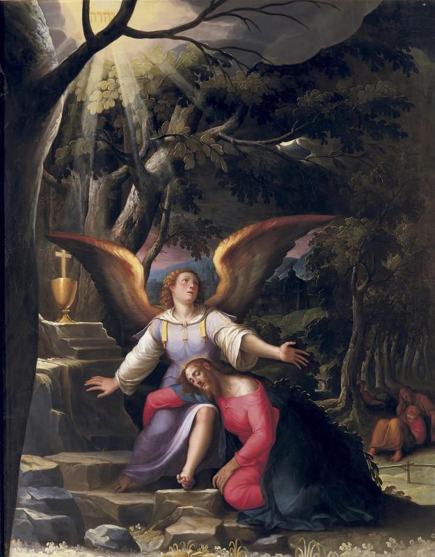 Jacopo Ligozzi - Agonia Nel Giardino