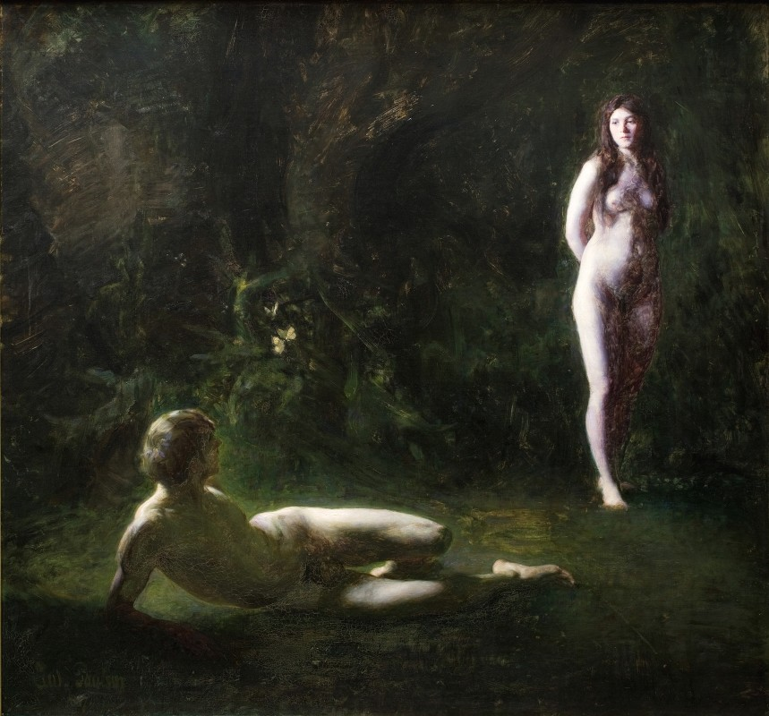 Julius Paulsen - Adam and Eve