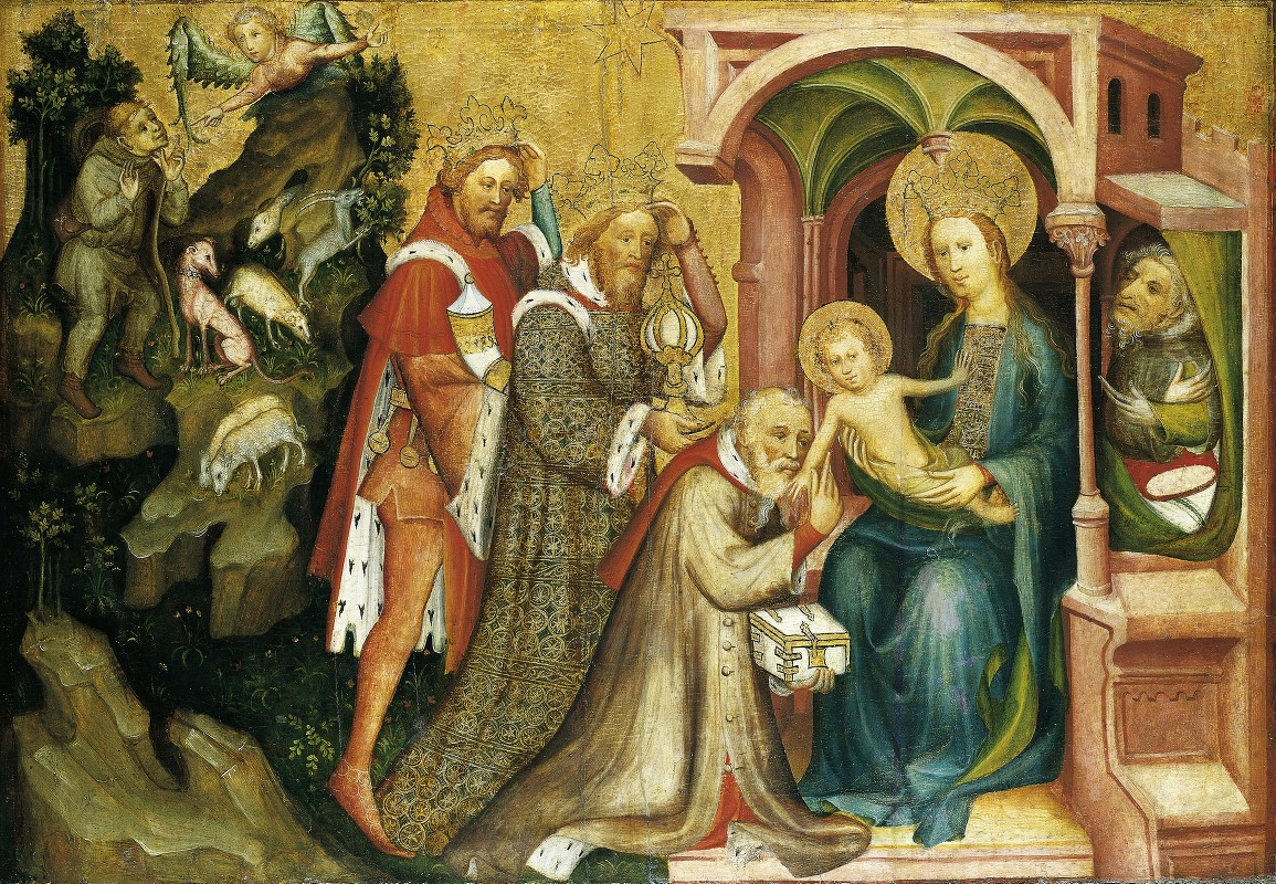 Master Of The Middle Rhine - The Adoration of the Magi
