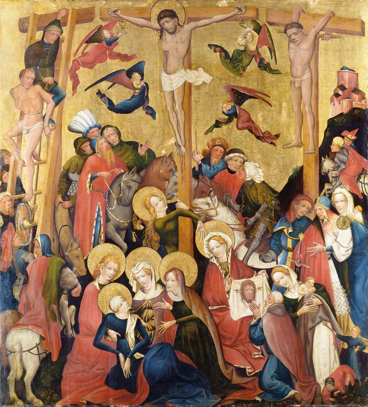 Master Of The Middle Rhine - The Crucifixion