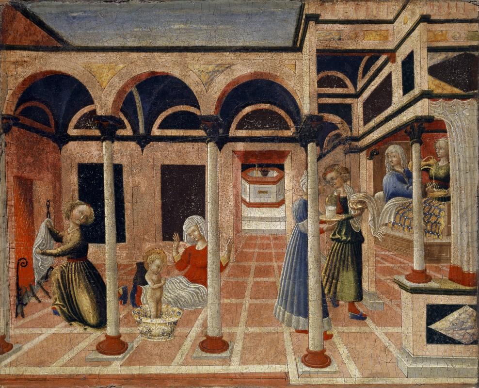 Pietro Di Giovanni D'ambrogio - The Miracle at the Birth of Saint Nicholas