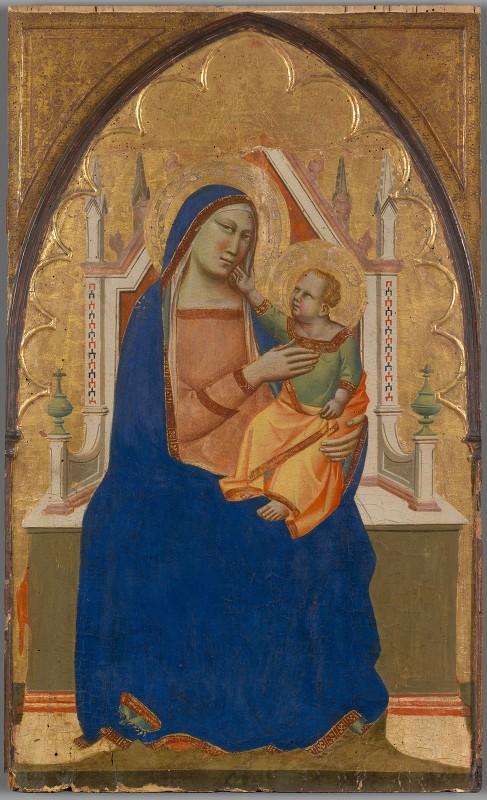 Taddeo Gaddi - Virgin and ChildEnthroned