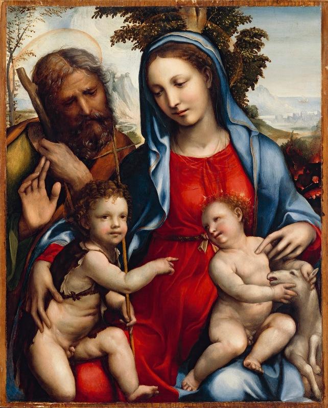 Sodoma - The Holy Family and St. John