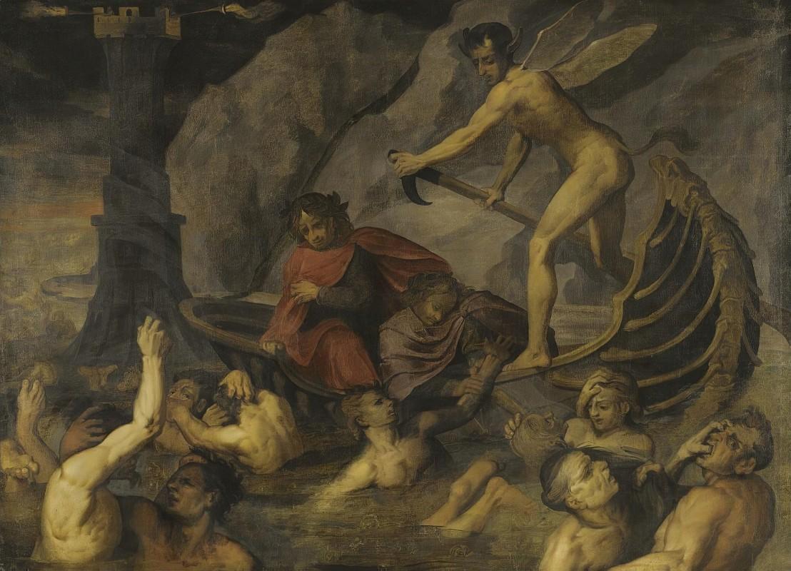 Jacopo Ligozzi - Scene From The Divine Comedy 1