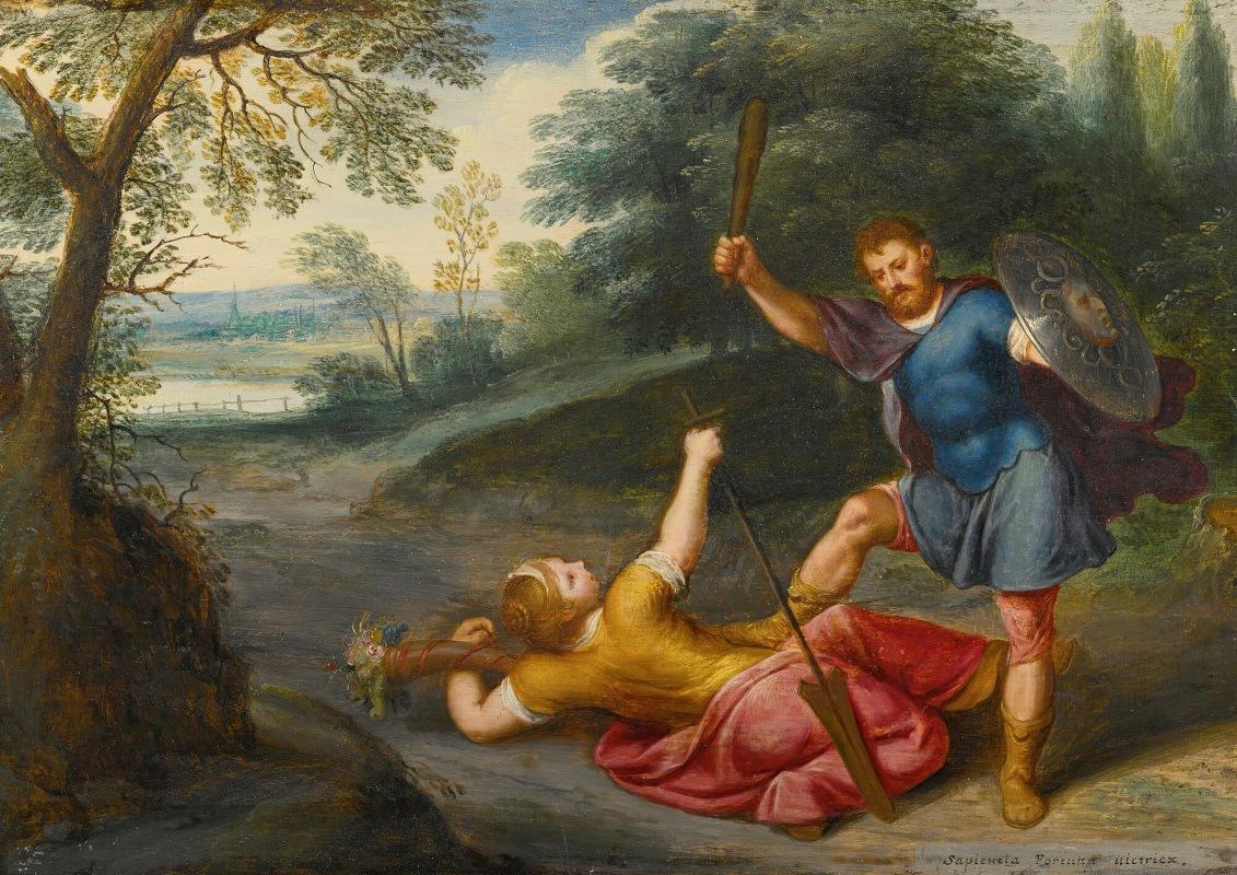 Otto van Veen - The triumph of wisdom over fortune