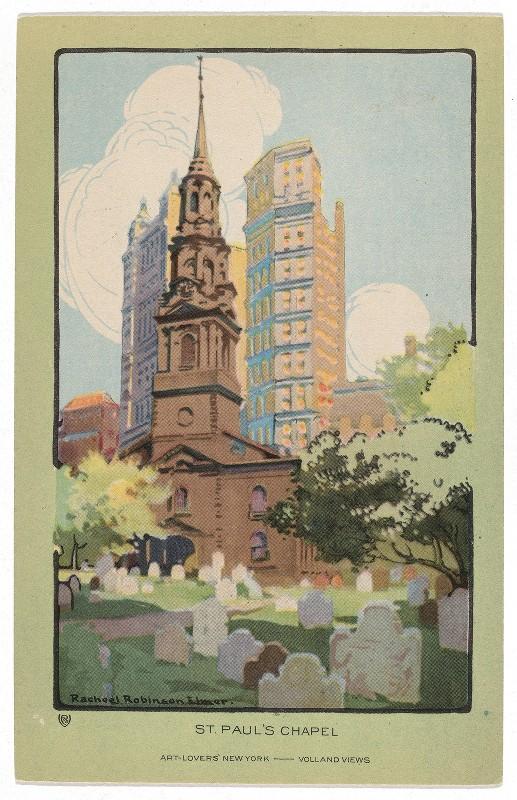 Rachael Robinson Elmer - St. Paul's Chapel
