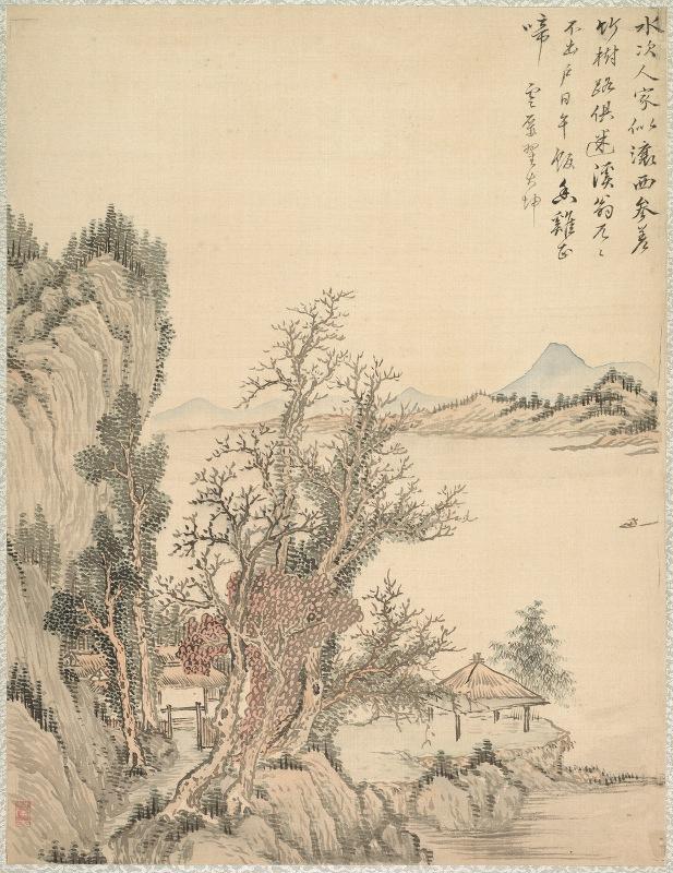 Tsubaki Chinzan - Dwelling by the Shore