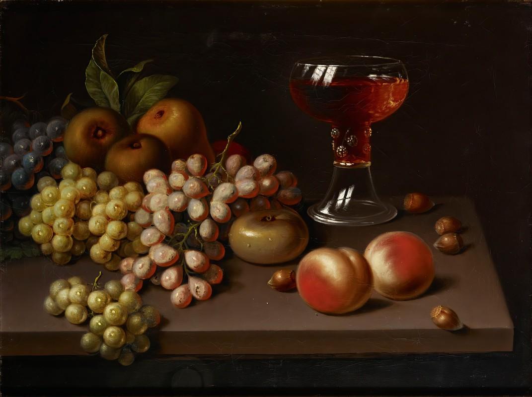 Johan Erik Lindh - Still Life With Fruit, Copy After Jac. Stockmann