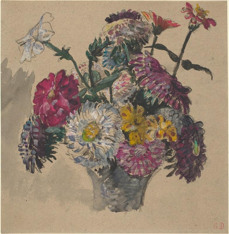 Eugène Delacroix - Flowers