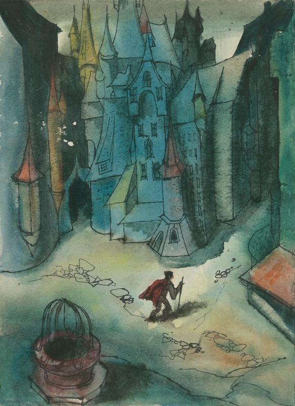 Ján Novák - Study for a Slovak Fairytale II