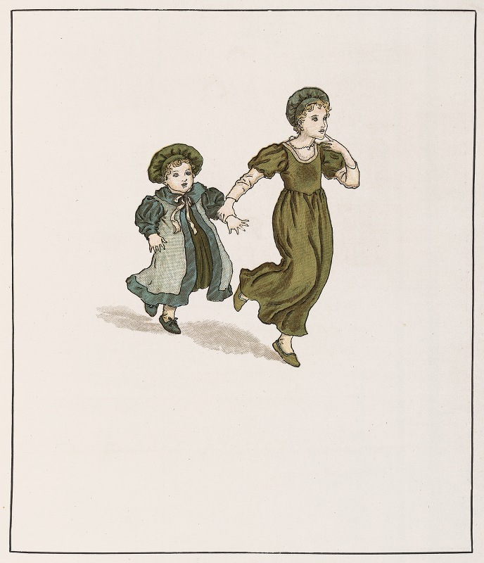 Kate Greenaway - The Pied Piper of Hamelin Pl 25